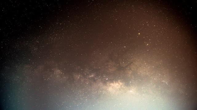 Der Milchstraße Zeitraffer