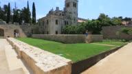 The Monastery Complex on Lokrum Island, Adriatic Sea, Dalmatia Coast, Croatia.