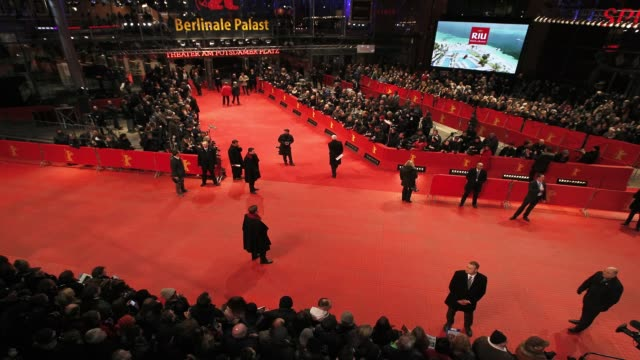 TIMELAPSE 'The Monument Men' Timelapse at Berlinale Palast on February 8 2014 in Berlin Germany