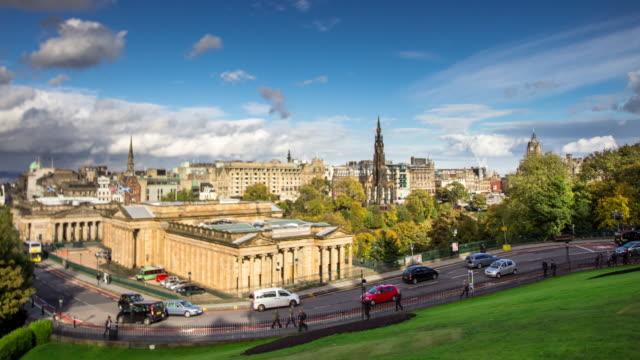 The Mound, Edinburgh - Time Lapse