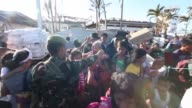 The Multinational force continues the steady stream of relief supplies to devastated areas in adn around the city of Tacloban Republic of the...