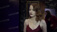 The musical film 'La La Land' had a Gala screening in Soho Actress and one of the stars of the film Emma Stone spoke to press about her experience of...