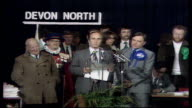 The Nation Decides General Election Special ITN Devon North Jeremy Thorpe loses SCREEN