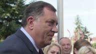 The nationalist leader of the Bosnias Republika Srpska Milorad Dodik votes in a referendum on whether to keep celebrating their January statehood day...