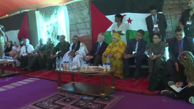 The new UN envoy for disputed Western Sahara Horst Koehler met leaders of an Algerian backed independence movement Wednesday after visiting Morocco...