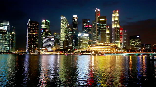 The nights of Singapore