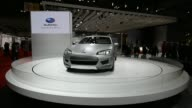 The Nissan Motor Co concept vehicles are displayed at the 43rd Tokyo Motor Show 2013 in Tokyo Japan on Wednesday Nov 20 The Fuji Heavy Industries Ltd...
