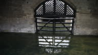 The notorious Traitor's Gate, Tower of London