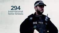 The number of people arrested for terrorism offences increased by almost 70 per cent in the past year and is now at a record high of 379...