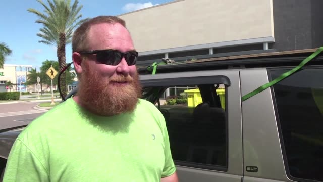 The number of people in the US state of Florida under orders to evacuate in the face of approaching Hurricane Irma is at 63 million but resident Adam...