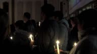 WDAF The Olathe community mourned Srinivas Kuchibhotla's death during a candlelight vigil on Feb 242017 at the First Baptist Church of Olathe a...