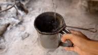 The old methods to make coffee drink