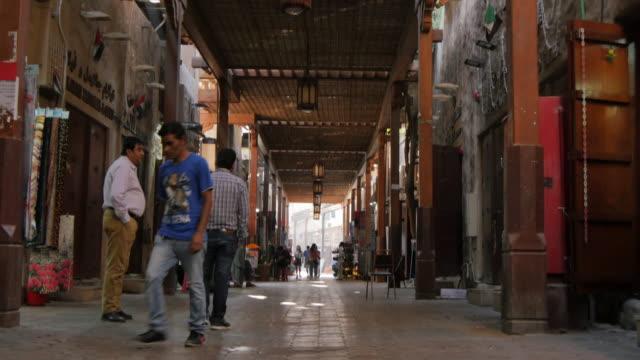The Old Souk, Bur Dubai, Dubai, United Arab Emirates, Middle East, Asia