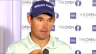 preview interviews and pkfs 14708 ENGLAND Lancashire Royal Birkdale INT Padraig Harrington questions at press conference SOT talks of his form this...