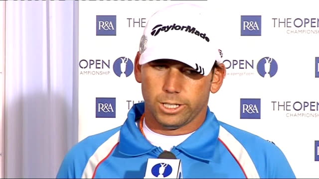 preview interviews and pkfs Sergio Garcia press conference questions SOT enjoys tournament and trying to improve on absense of Tiger Woods on whether...