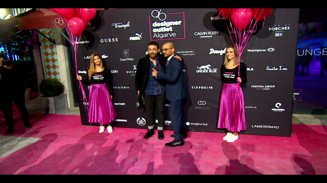 The opening of a designer outlet in Algarve Portugal on November 23 2017 in Loule Portugal