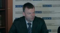 The OSCE mission in Ukraine says that the ceasefire is generally holding despite a few incidents