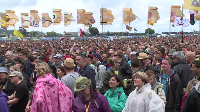 VIEW The Other Stage at Glastonbury Sightings on 27th June 2014 at Glastonbury Somerset England