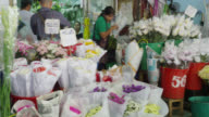 The Pak Klong Talad Flower Market