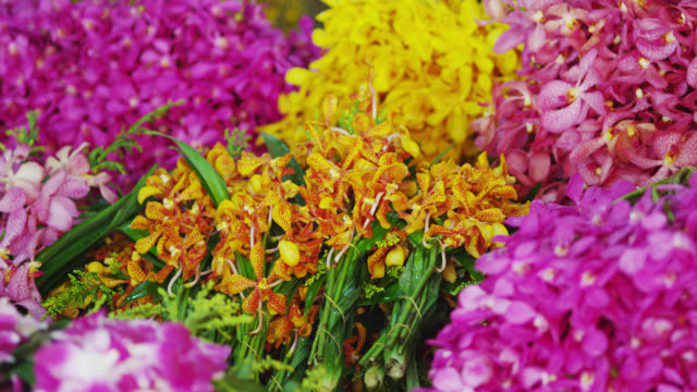 The Pak Klong Talad Flower Market