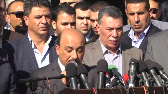 The Palestinian Authority on November 01 2017 takes over Gaza Strip's border crossings from Hamas group as part of an Egyptsponsored reconciliation...