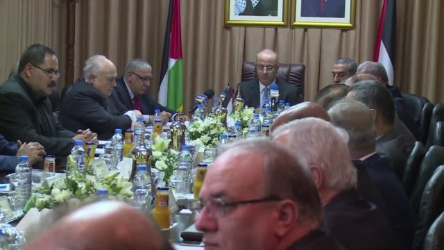 The Palestinian cabinet met in Gaza on Tuesday for the first time since 2014 in a further step towards the internationally recognized Palestinian...