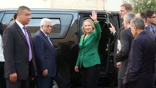 The Palestinian President Mahmoud Abbas hopes that a truce will be announced before the end of US Secretary of State Hillary Clintons visit in the...