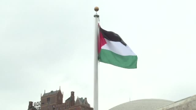 The Palestinians raised their flag at the United Nations on Wednesday for the first time in a ceremony attended by a packed crowd and presided over...