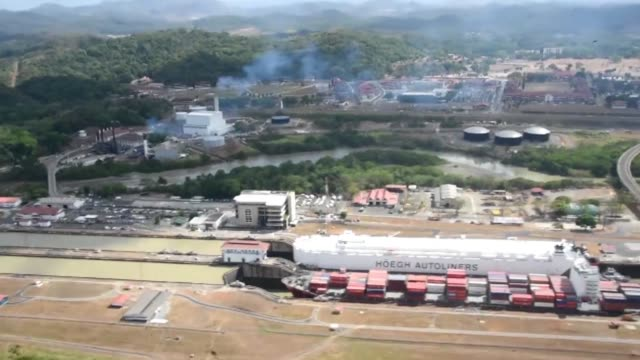 The Panama Canal will temporarily limit the cargo size of ships using the waterway due to a drought caused by the El Nino weather phenomenon...