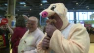 The Paris Agricultural Fair was the scene of some strange sounds on Saturday as the contest for the annual Pigs Squeal Prize was held to find who...
