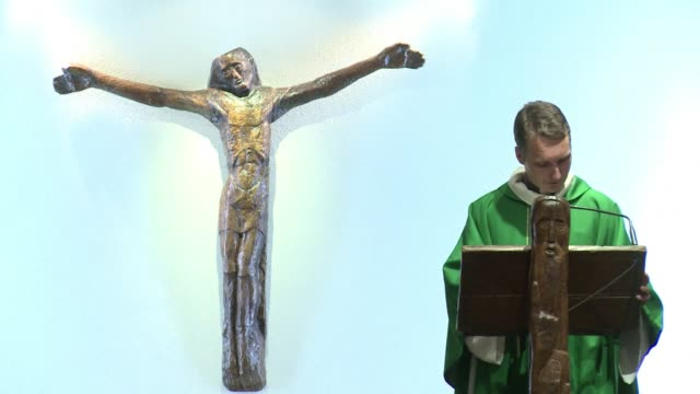 The Paris branch of the influential Catholic community Sant Egidio holds a mass for persecuted Christians in Iraq