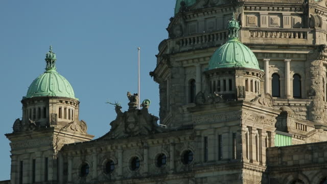The Parliament of British Columbia and its imposing architecture