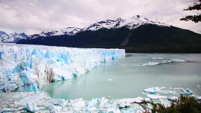 The Perito Moreno Glacier in Patagonia. Argentina HD Timelapse