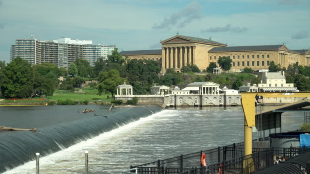 The Philadelphia Museum Of Art And The Schuylkill River