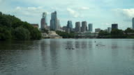 The Philadelphia Skyline And The Schuylkill River