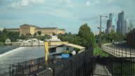 The Philadelphia Skyline, The Philadelphia Art Museum And The Schuylkill River