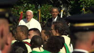 The Pope has used his first visit to the United States to call for action on climate changeThousands gathered in Washington to see the Pontiff who...