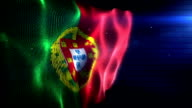 The Portugese Flag - Background Loop (Full HD)