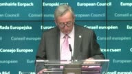 the president of the European council Donald Tusk and President of the European Commission JeanClaude Juncker express their condolences Friday...