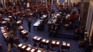 The Presiding Officer puts the question of concurrring in a House amendment to a Senate bill containing a fiscal 2016 defense authorization changed...