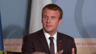 The Prime Minister of Luxembourg Xavier Bettel welcomed French President Emmanuel Macron and Belgian Prime Minister Charles Michel as the three heads...