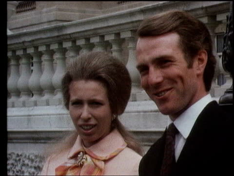 The Princess Anne collection 2 VARIOUS Princess Anne posing with fiance Mark Phillips on day their engagement was announced the ring interview with...