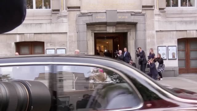 The Queen arriving and leaving the British Museum where she reopens the Sir Joseph Hotung gallery The display will include a new narrative for China...