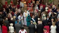 The Queen has arrived in Leicester to present money to pensioners to mark Maundy Thursday as part of a tradition dating back to the 13th century...