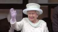The Queen has held a special reception to thank those involved in making her Diamond Jubilee celebrations so memorable Pop star Gary Barlow and...