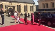The Queen visits Stirling Castle as she marks 70 years since she was appointed ColonelinChief of the Argyll and Sutherland regiment