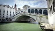 Der Rialto-Brücke, Venedig, Italien