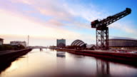 The River Clyde, Glasgow, Scotland