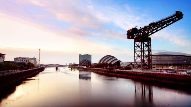 The River Clyde, Glasgow, Scotland