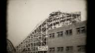 Die Achterbahnen, Coney Island eröffnet. 16 mm (HD1080